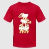 Sheeps celebrating Patrick's Day T-Shirts - Men's T-Shirt by American Apparel