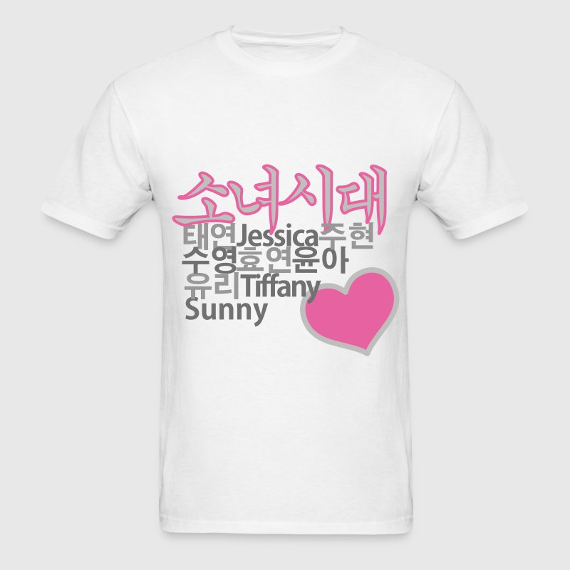 SNSD Girls' Generation T-Shirts - Men's T-Shirt