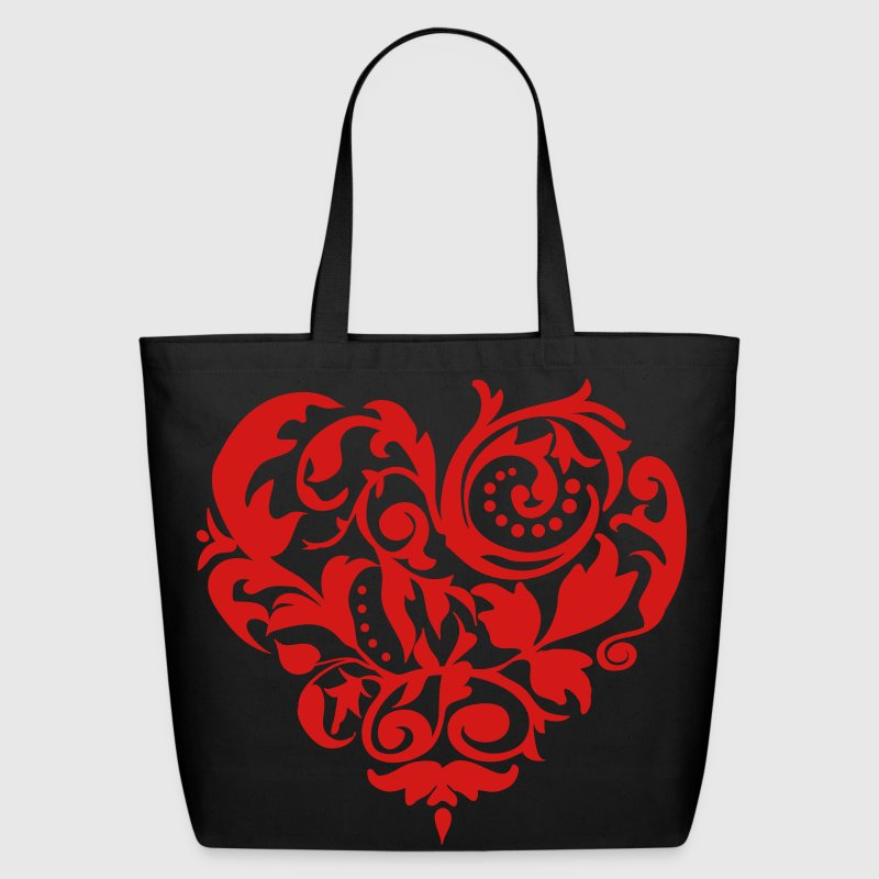 Baroque Heart Bags  - Eco-Friendly Cotton Tote