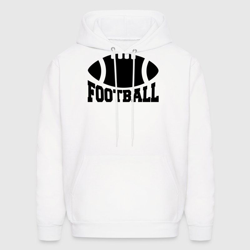 American football Hoodies - Men's Hoodie