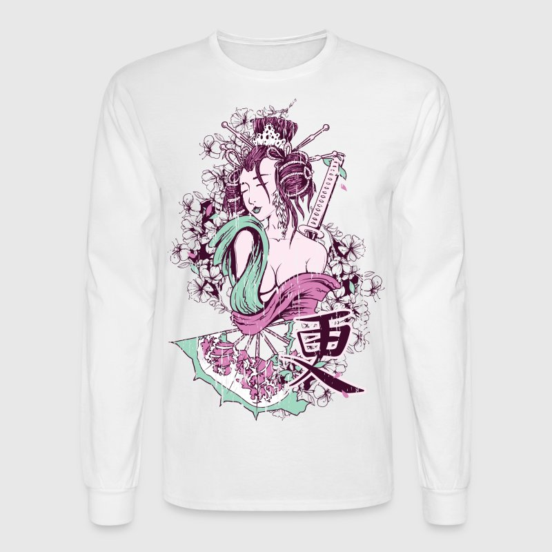 Deadly HD Design Long Sleeve Shirts - Men's Long Sleeve T-Shirt
