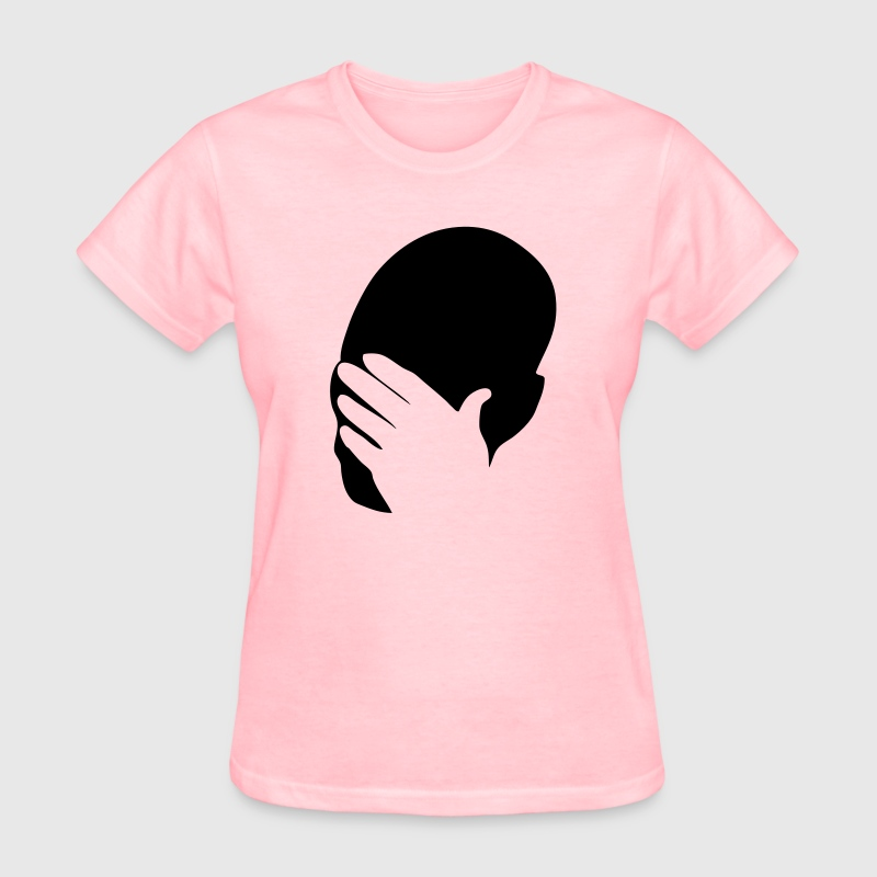 Facepalm HD VECTOR Women's T-Shirts - Women's T-Shirt
