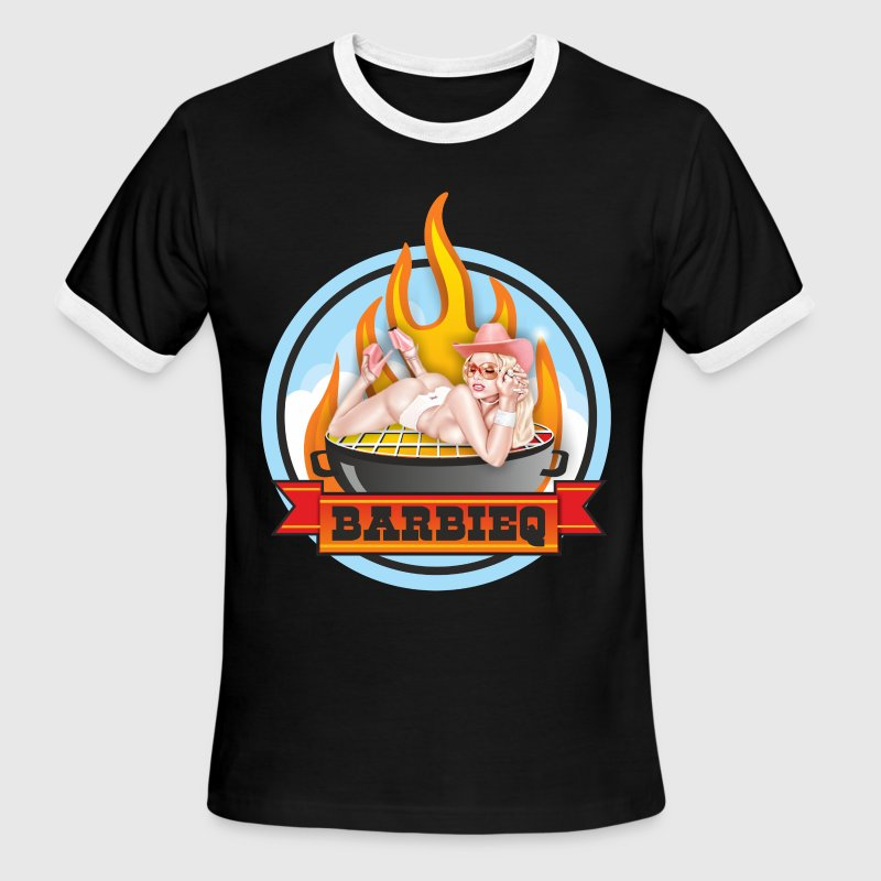barbie Q T-Shirts - Men's Ringer T-Shirt