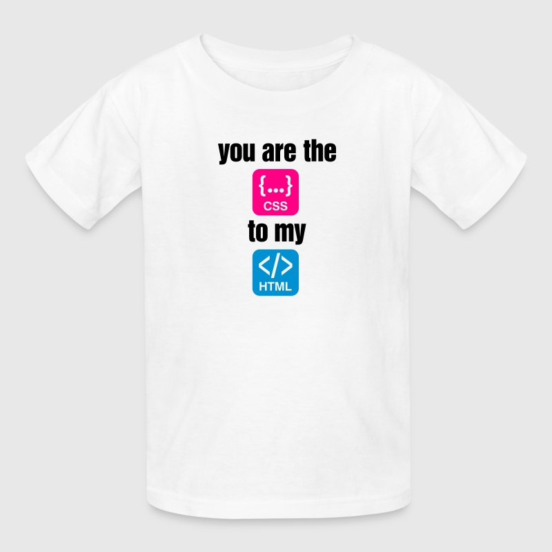 You Are The Css 4 (3c)++ Kids' Shirts - Kids' T-Shirt