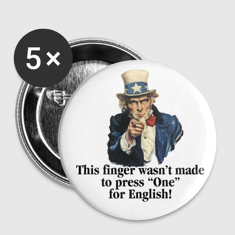 White Uncle Sam - Finger Accessories - Large Buttons