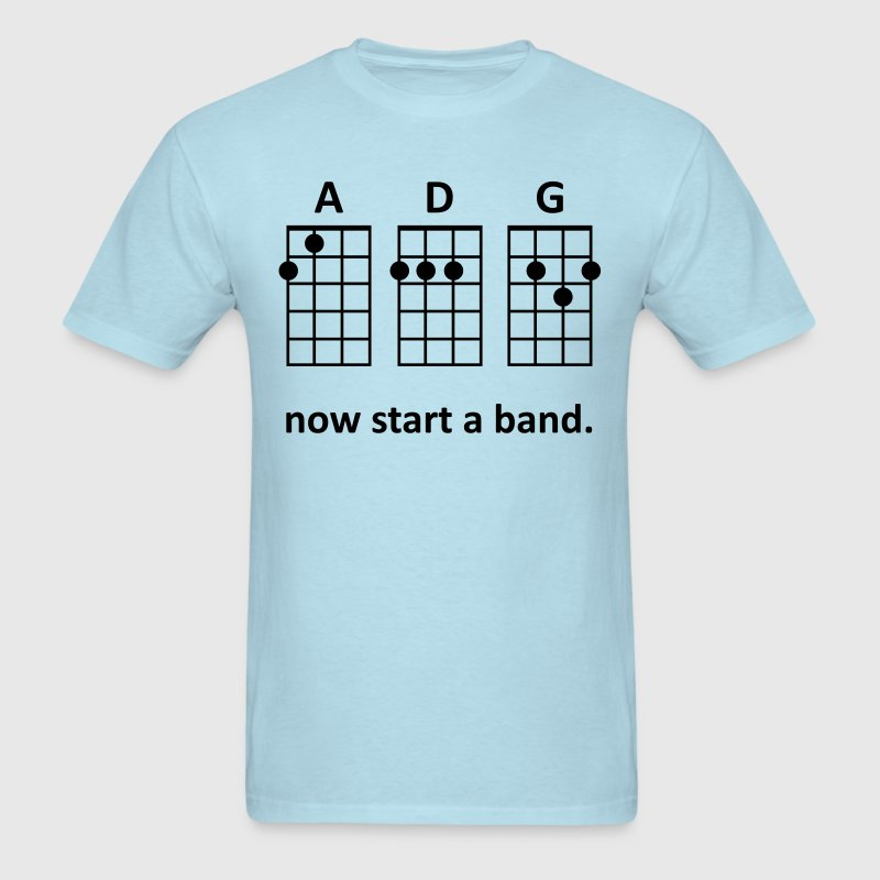 ADG: Now Start a Band (Blue) - Men's - Men's T-Shirt