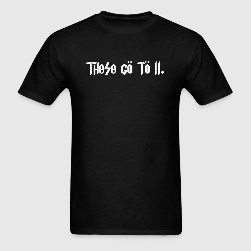 Spinal Tap - These Go To 11 - Men's T-Shirt