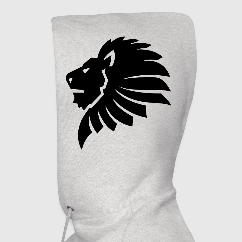 Lion Head HD VECTOR Hoodies - Men's Hoodie