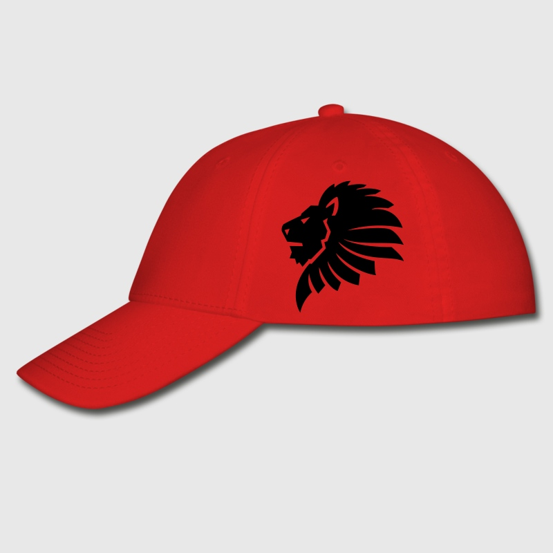 Lion Head HD VECTOR Caps - Baseball Cap