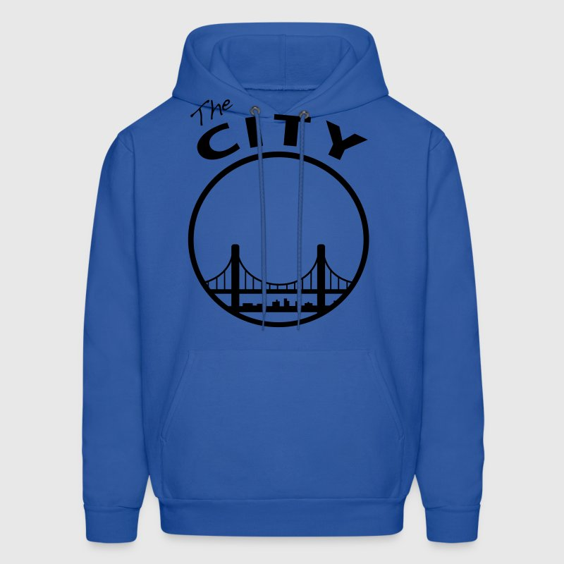 The CIty - San Francisco - bay Area - Men's Hoodie