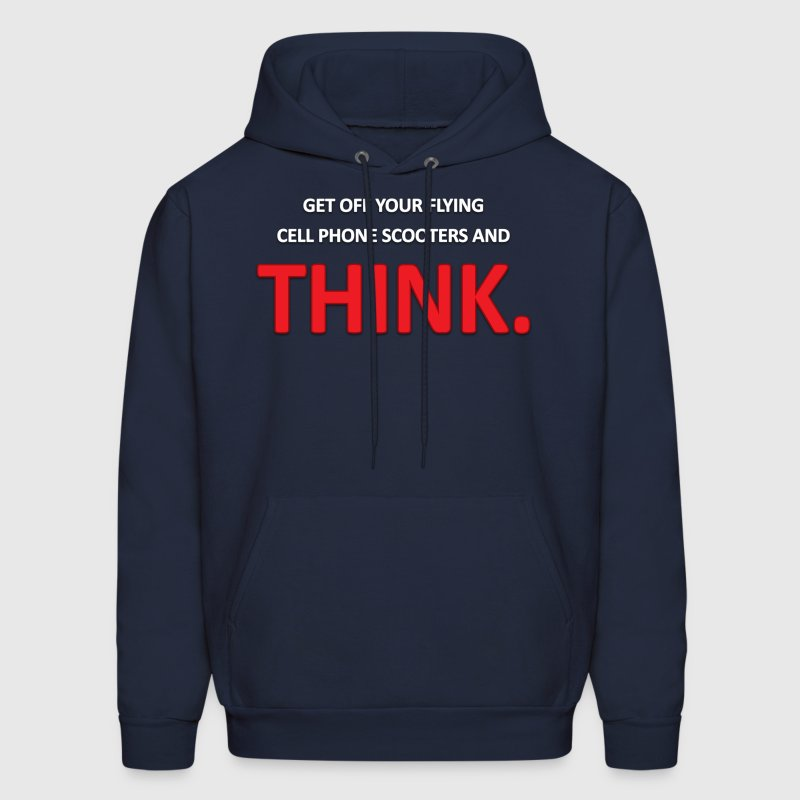 South Park: Get Off Your Flying Cell Phone Scooters - Hoodie - Men's Hoodie