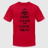 Keep Calm and Cook Meth T-Shirts - Men's Fine Jersey T-Shirt