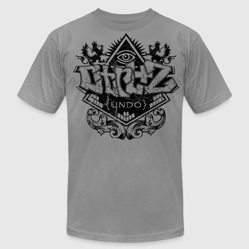 cool design graffiti by Control Z Clothing T-Shirts - Men's T-Shirt by American Apparel