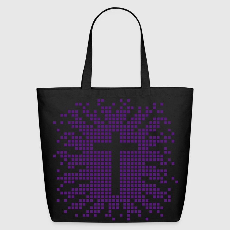 cross - church - religion - jesus - design Bags  - Eco-Friendly Cotton Tote