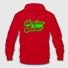 brother bear Zip Hoodies/Jackets - Unisex Fleece Zip Hoodie by American Apparel