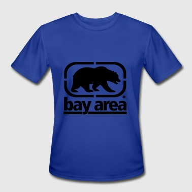 BAY AREA BORN AND RAISED - CALIFORNIA - SAN FRANCISCO - Men's Moisture Wicking Performance T-Shirt