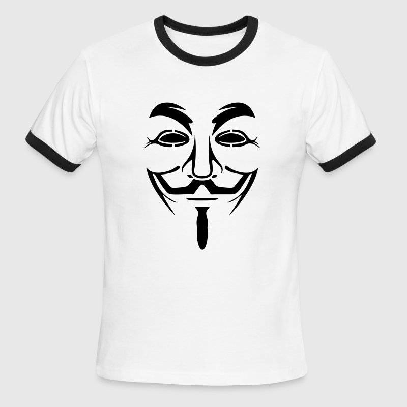 anonymus T-Shirts - Men's Ringer T-Shirt