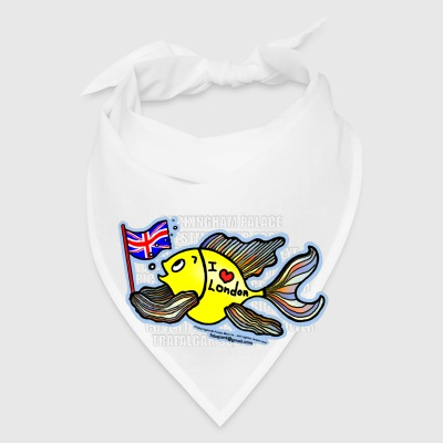 I Love London Fish - Bandana