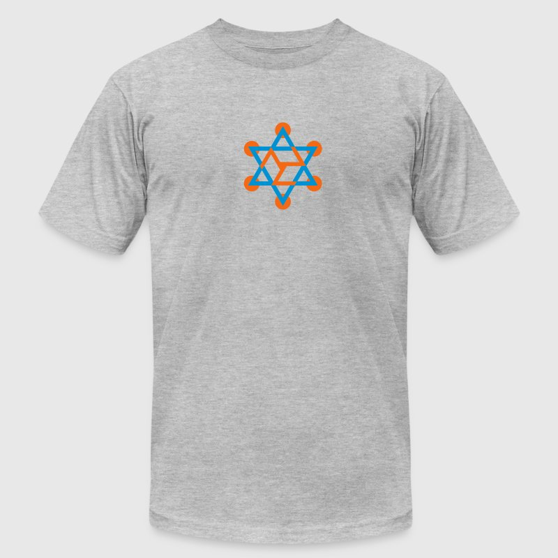 ANTAHKARANA - Rainbow Bridge, Healing Symbol, c, T-Shirts - Men's T-Shirt by American Apparel