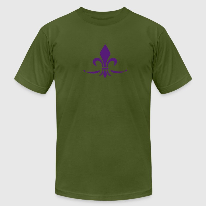 Lily Flower, trinity symbol Charity, Hope, Faith 3 T-Shirts - Men's T-Shirt by American Apparel