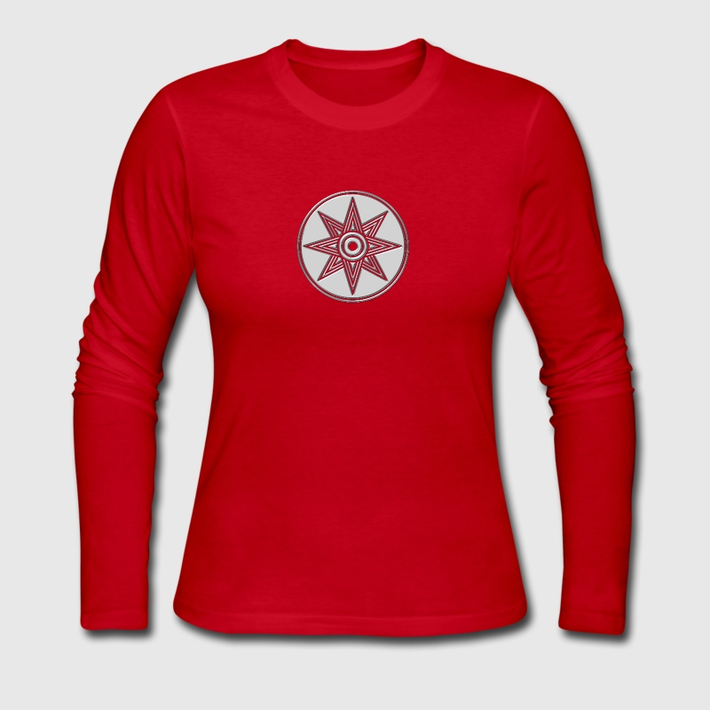 Star Of Ishtar - Venus Star, Symbol of the great Babylonian Goddess of love Ishtar (Inanna), DD Long Sleeve Shirts - Women's Long Sleeve Jersey T-Shirt