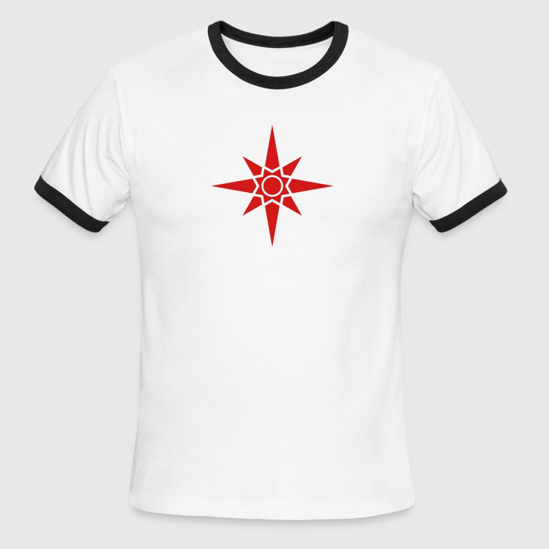 Star Of Ishtar - Venus Star 1, Symbol of the great Babylonian Goddess of love Ishtar (Inanna), c T-Shirts - Men's Ringer T-Shirt
