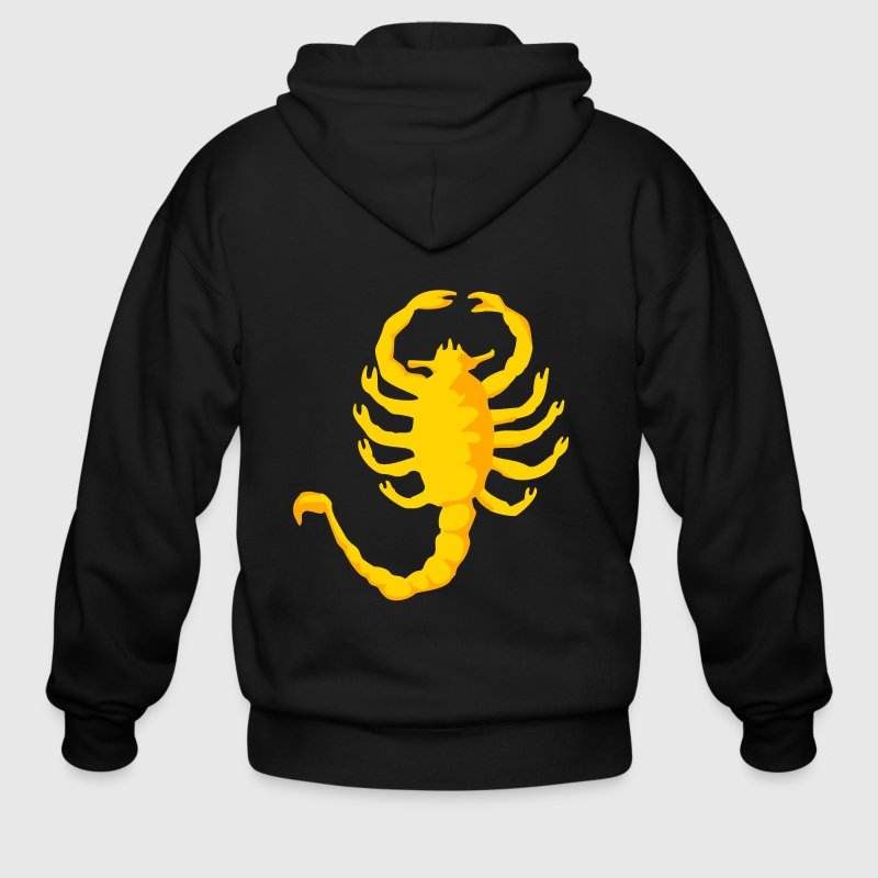 Scorpion Drive, 2c, Scorpio,  Zip Hoodies/Jackets - Men's Zip Hoodie
