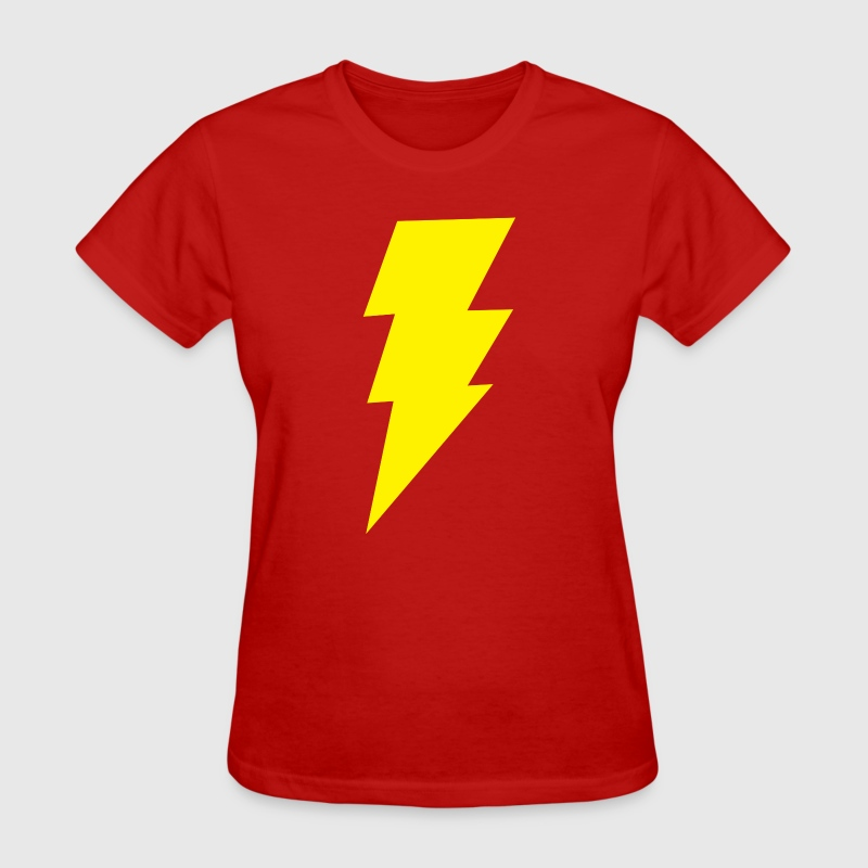 Shazam Lightning Bolt T-Shirt - Women's T-Shirt