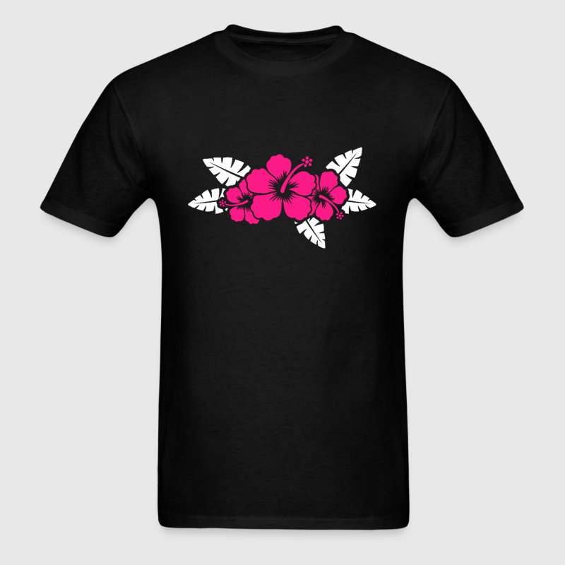 Hawaiian Flower Floral Design T-Shirts - Men's T-Shirt