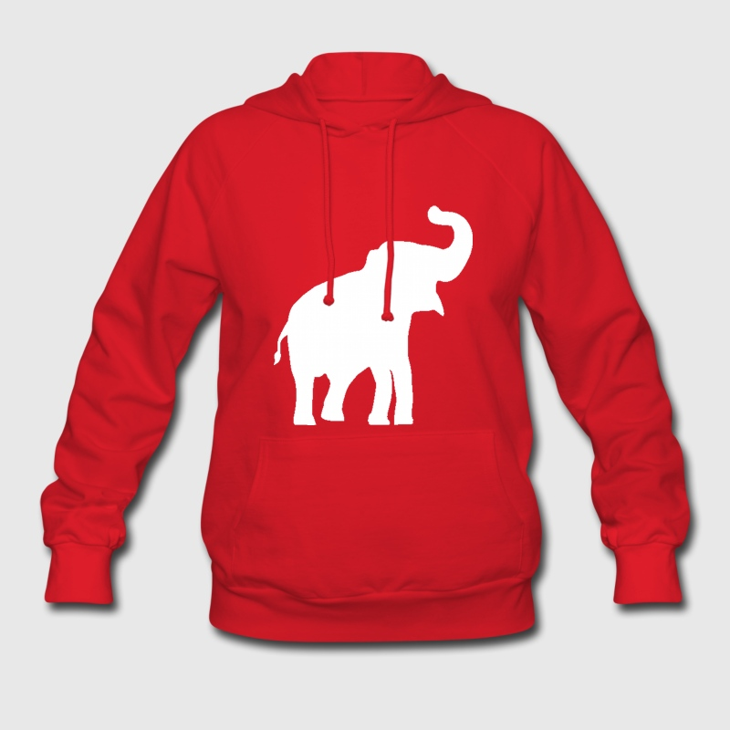 White Elephant Design Hoodies - Women's Hoodie