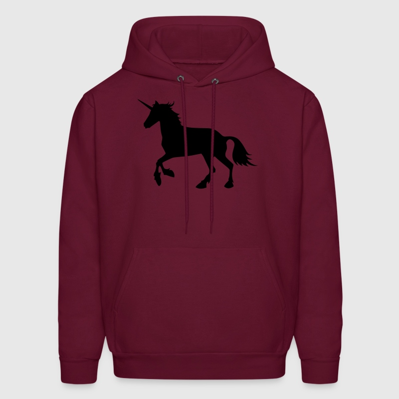 Unicorn Design Vector Hoodies - Men's Hoodie