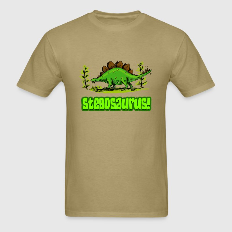 Stegosaurus! - Men's T-Shirt