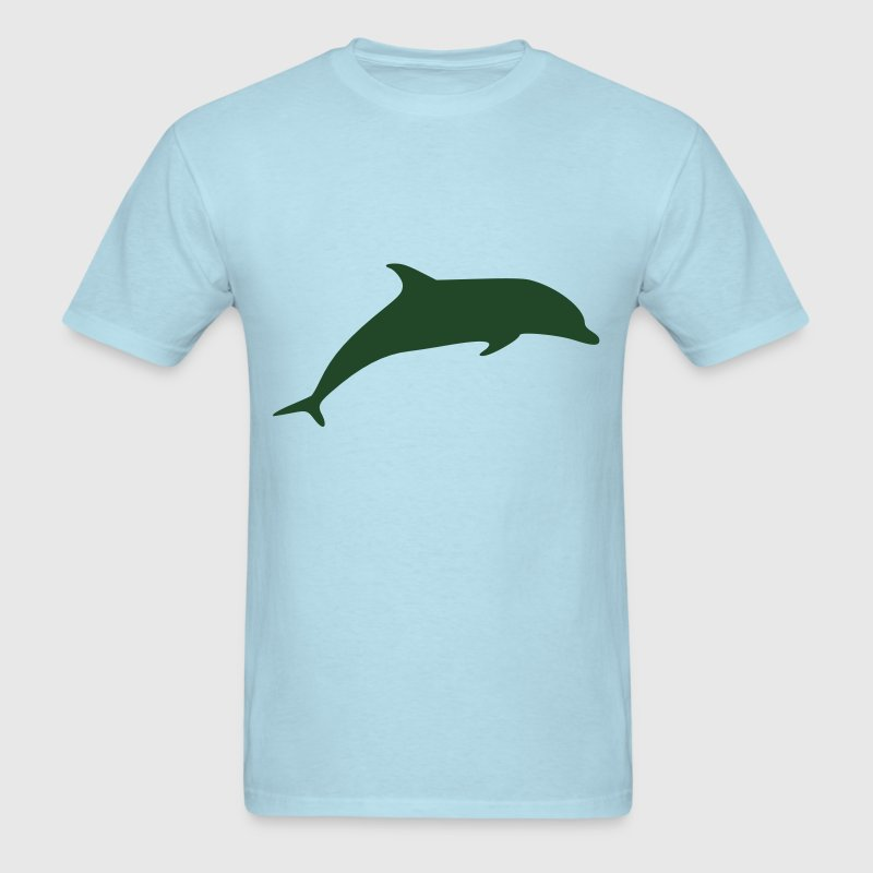 Dolphin Vector T-Shirts - Men's T-Shirt