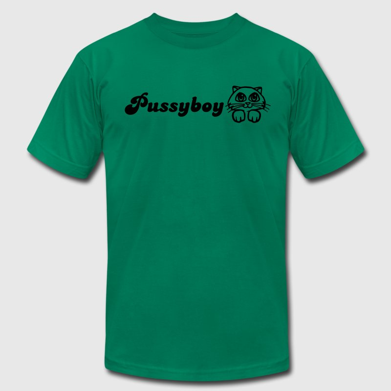 Pussyboy T-Shirts - Men's T-Shirt by American Apparel