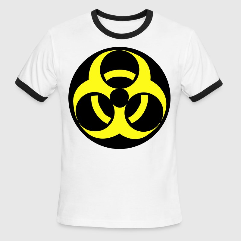 Biohazard T-Shirts - Men's Ringer T-Shirt