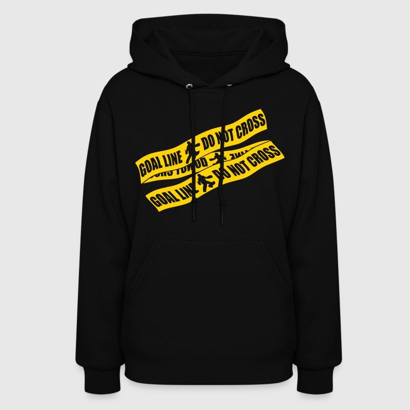 Goal Line Do Not Cross (field hockey) Hoodies - Women's Hoodie