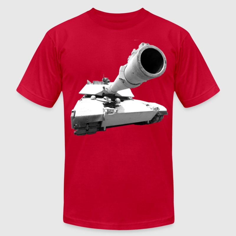 Abrams Tank T-Shirts - Men's T-Shirt by American Apparel