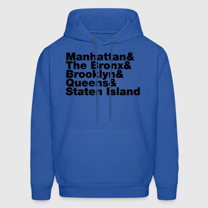Five Boroughs ~ New York City Hoodies - Men's Hoodie