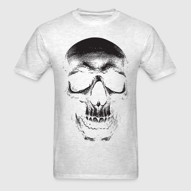 Large Skull - High Quality Design T-Shirts - Men's T-Shirt