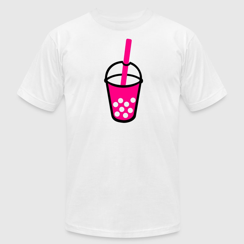 Bubble Tea Drink T-Shirts - Men's T-Shirt by American Apparel