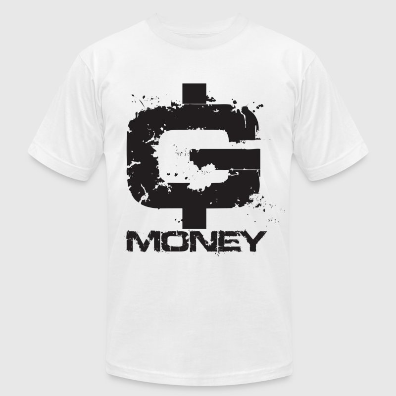 G money. T-Shirts - Men's T-Shirt by American Apparel