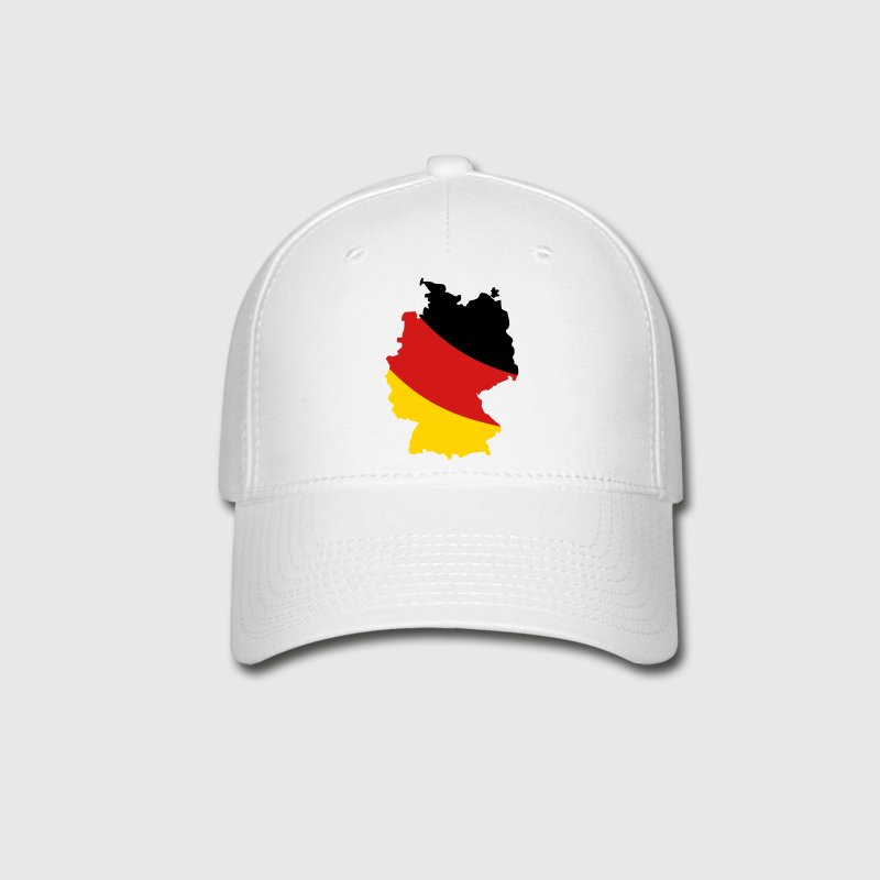 Germany map Caps - Baseball Cap