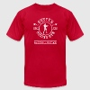 Cutty's Boxing Gym T-Shirt (Eggplant) - Men's T-Shirt by American Apparel