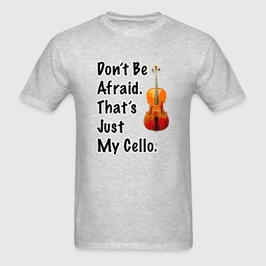 That's Just My Cello Crew Neck Sweatshirt - Men's T-Shirt