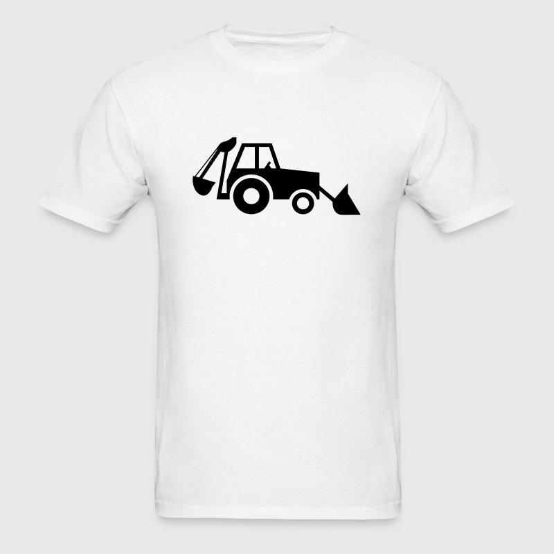 Backhoe - VECTOR T-Shirts - Men's T-Shirt