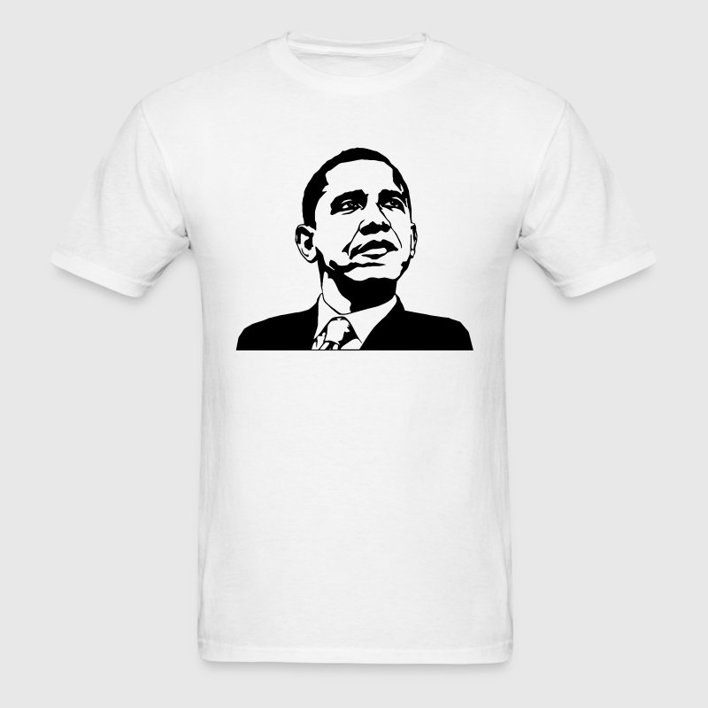 Barack Obama - HIGHEST QUALITY VECTOR T-Shirts - Men's T-Shirt
