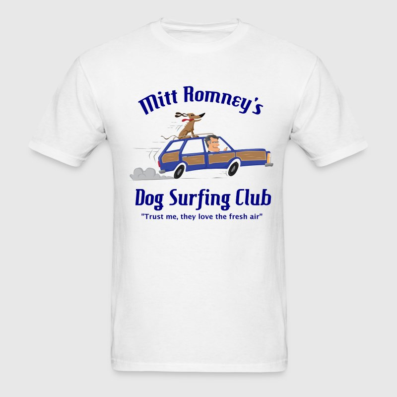Mitt Romney Dog Car Shirt T-Shirts - Men's T-Shirt