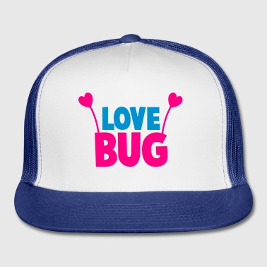 love bug cute with heart shaped antennae Gift - Trucker Cap