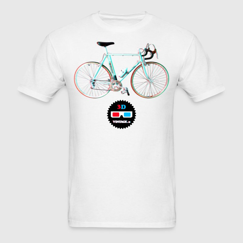 Bianchi bike 3D vintage - Men's T-Shirt