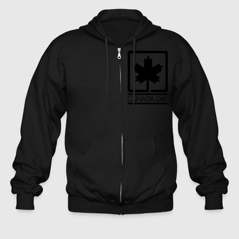 Canada Day - VECTOR Zip Hoodies/Jackets - Men's Zip Hoodie